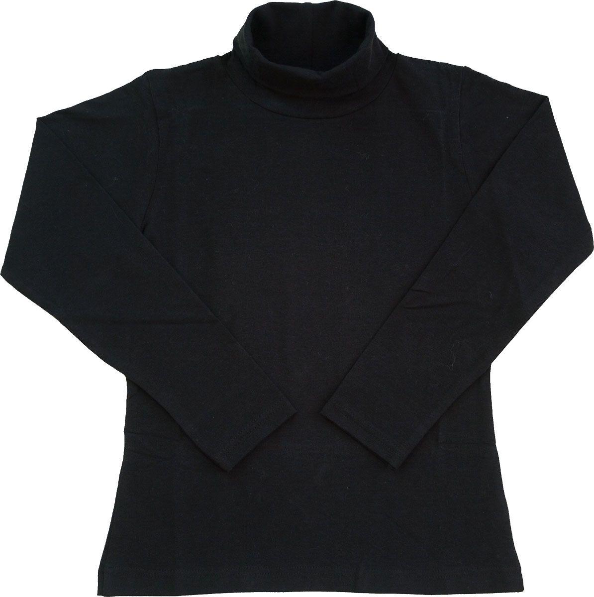 Férfi hosszú ujjú garbó (fekete) /GAPAM00121/