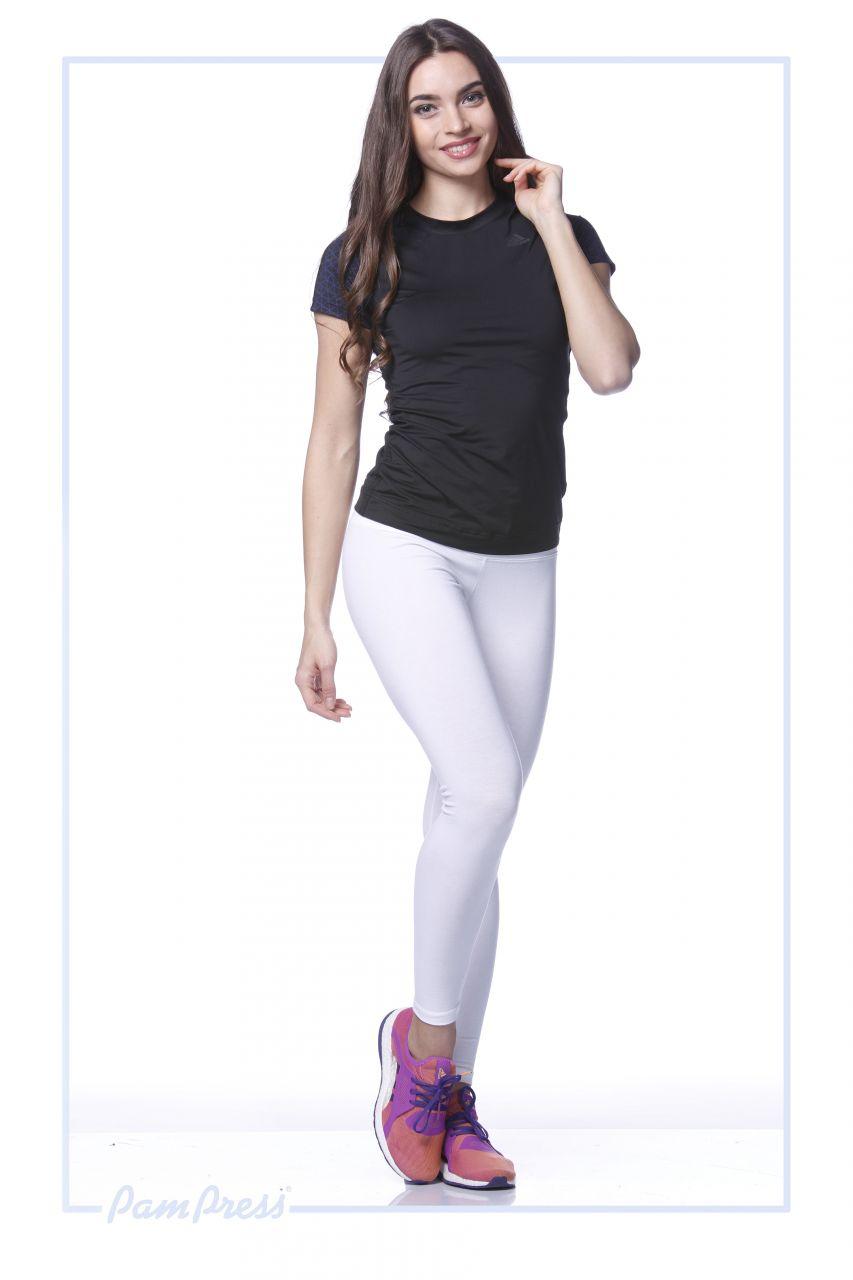 Női leggings (fehér) /LNPAM00112/