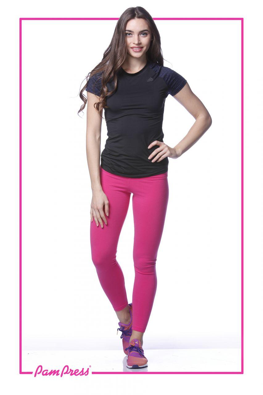 Női leggings (pink) /LNPAM00142/