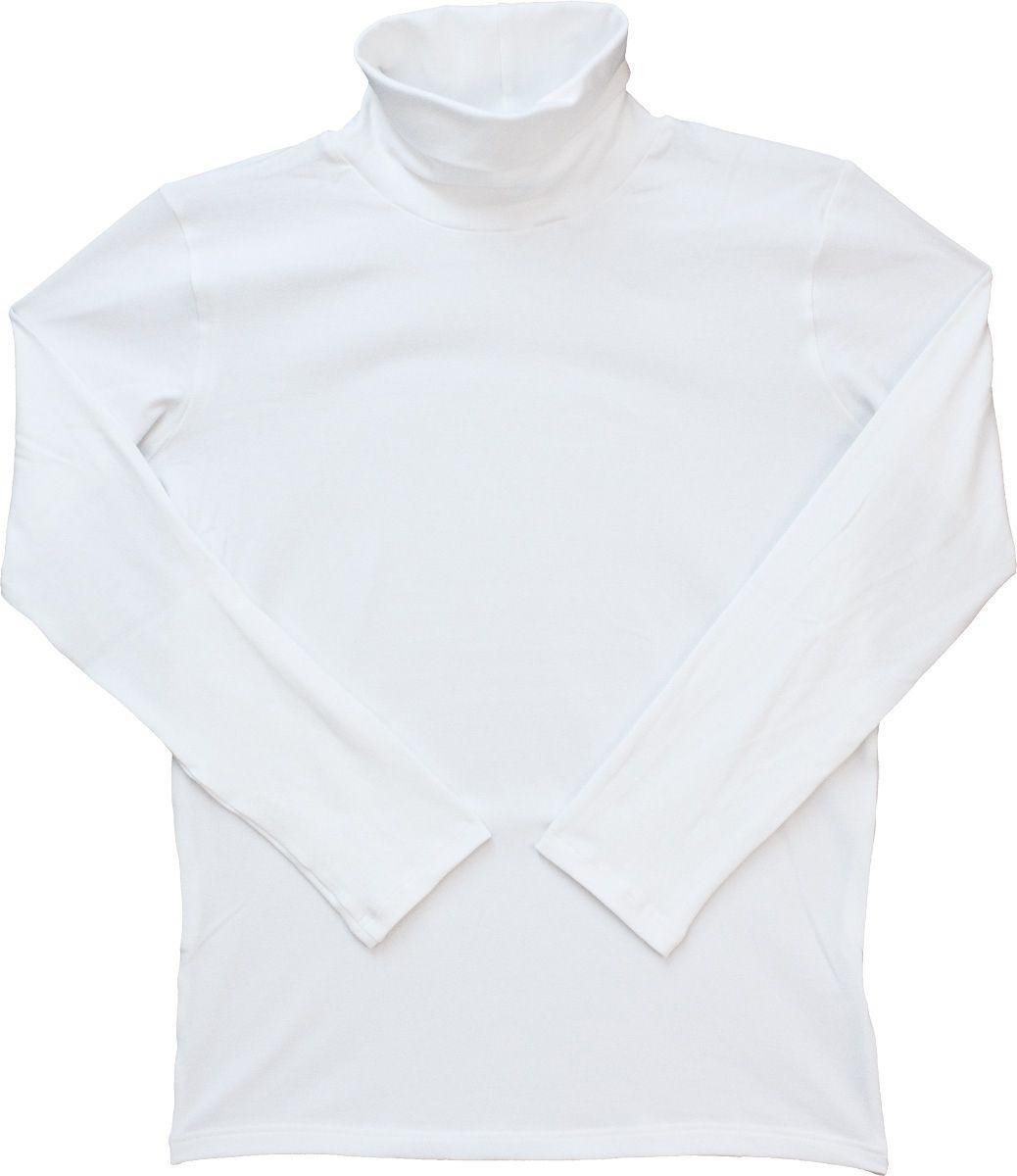 Férfi hosszú ujjú garbó (fehér) /GAPAM00111/