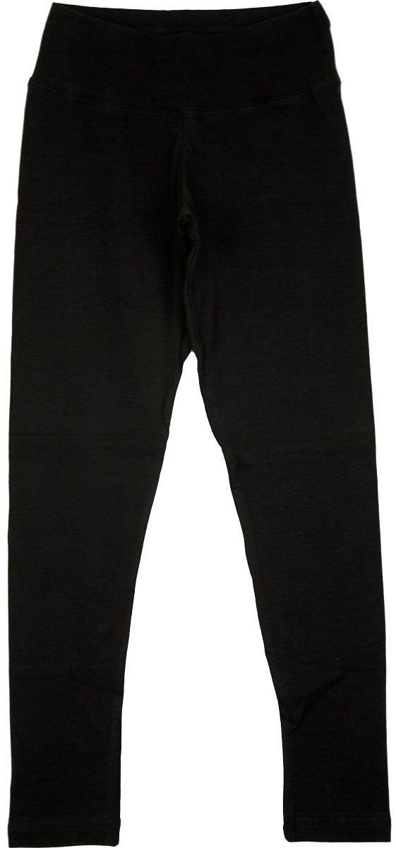 Lányka vastag leggings (fekete) /LNPAM60324/