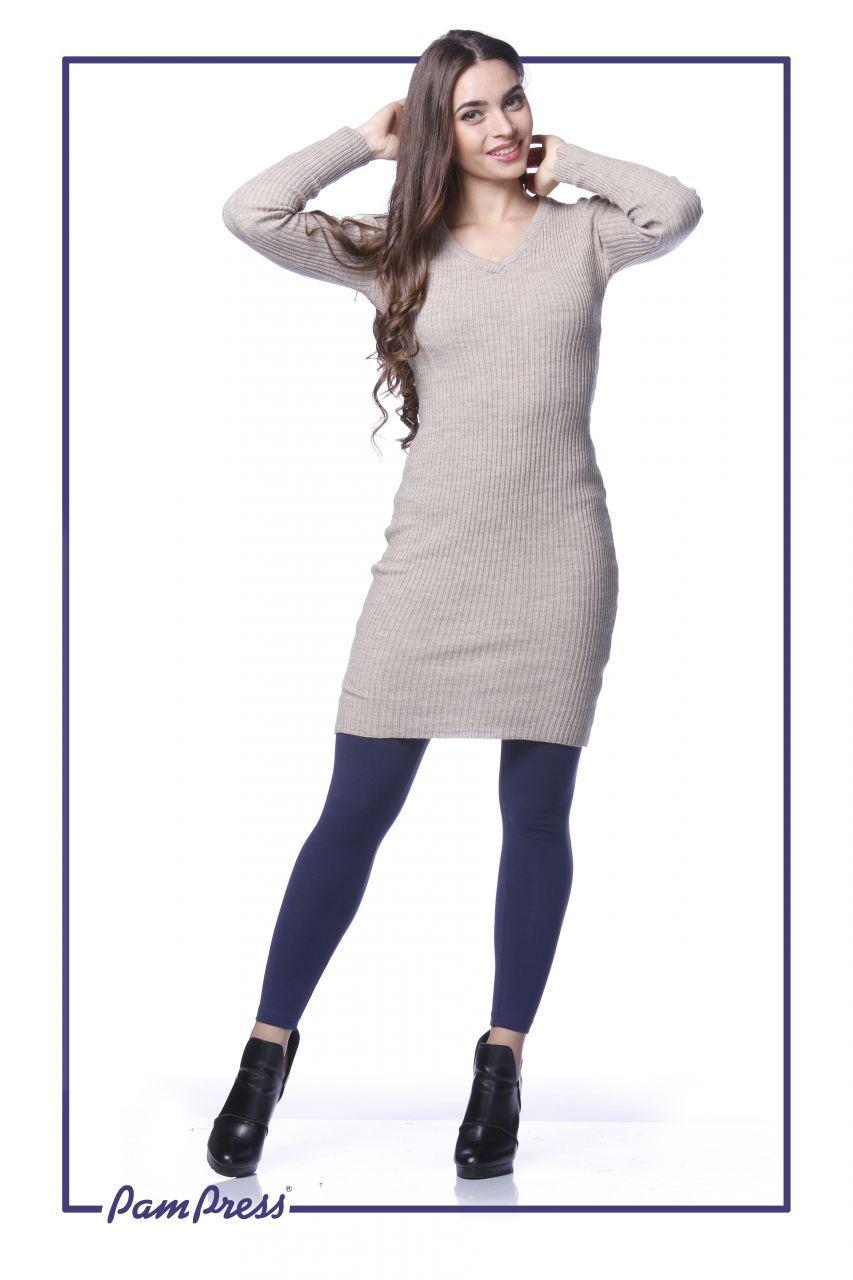 Női vastag leggings (Sötétkék) /LNPAM20032/