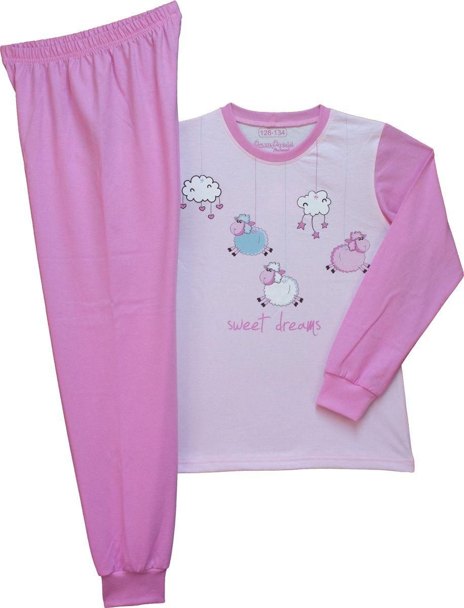 Lány hosszú ujjú pizsama (Bárányos) TPBEE21014